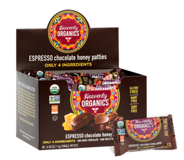 Picture of  Espresso Chocolate Honey Patties, 40x11g