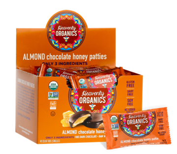 Picture of  Almond Chocolate Honey Patties, 40x11g