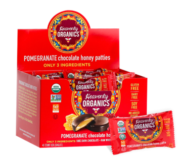 Picture of  Pomegranate Chocolate Honey Patties, 40x11g