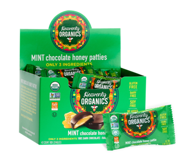 Picture of Heavenly Organics Heavenly Organics Honey Patties, Mint Chocolate 40x11g