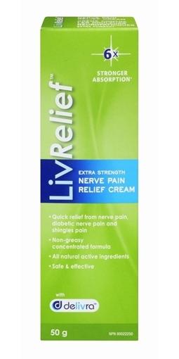 Picture of LivRelief LivRelief Nerve Pain Relief, 50g