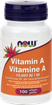 Picture of NOW Foods Vitamin A 10,000 IU, 100 Softgels