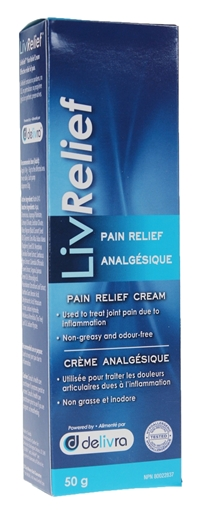 Picture of LivRelief Pain Relief Cream, 50g