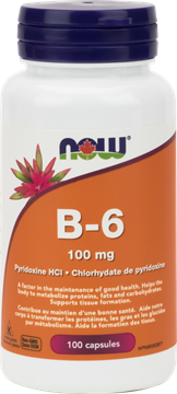 Picture of  B-6 100mg, 100 Capsules