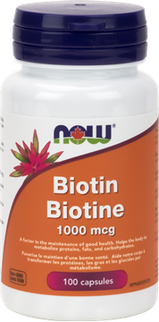 Picture of  Biotin 1,000mcg, 100 Capsules