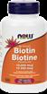 Picture of NOW Foods Biotin 10,000 mcg, 120 Veg Capsules
