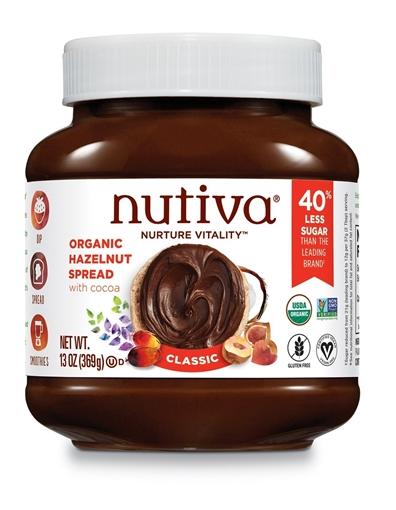 Picture of Nutiva Nutiva Organic Hazelnut Spread Classic, 369g