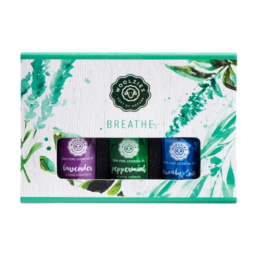 Picture of Woolzies Essential Oil Set, Breathe 3x10ml
