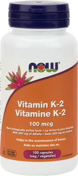Picture of  Vitamin K-2, 100mcg, 100 Capsules
