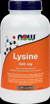 Picture of  L-Lysine 500mg, 250 Capsules