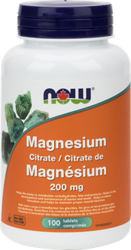 Picture of  Magnesium Citrate 200mg, 100 Tablets