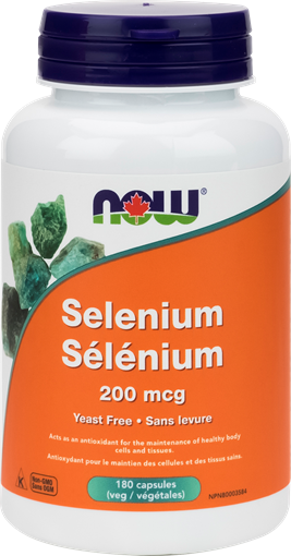 Picture of NOW Foods NOW Foods Selenium 200mcg, 180 Capsules
