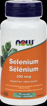 Picture of NOW Foods Selenium 200mcg, 90 Capsules