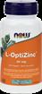 Picture of NOW Foods L-OptiZinc 30mg, 100 Veg Capsules