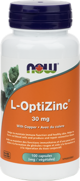 Picture of  L-OptiZinc 30mg, 100 Veg Capsules