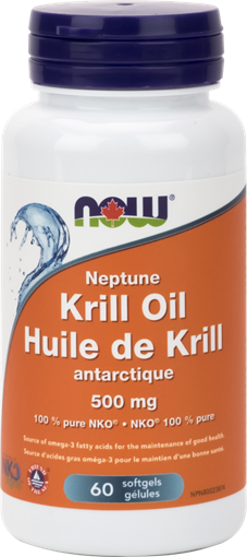 Picture of NOW Foods Neptune Krill Oil 500mg, 60 Softgels