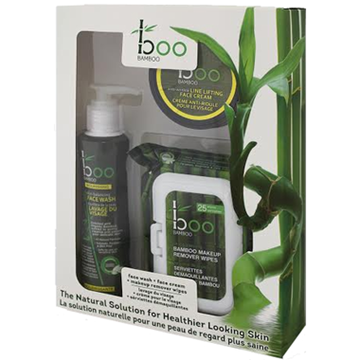 Picture of  Boo Bamboo Skin Care Set, 3-Pack Set