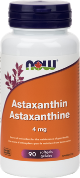 Picture of NOW Foods Astaxanthin 4 mg, 90 Softgels