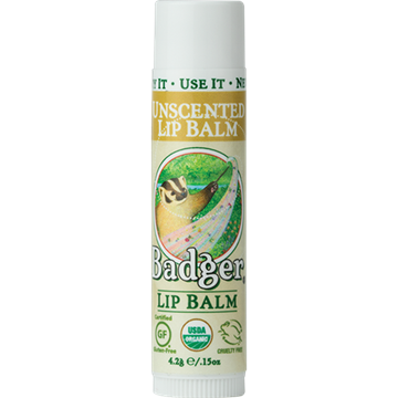 Picture of  Badger Lip Balm, Unscented 4.2g