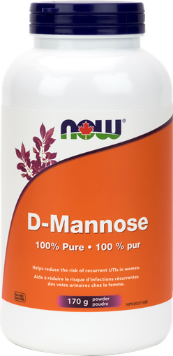 Picture of NOW Foods D-Mannose Powder, 170g
