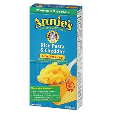 Picture of  Annie's Homegrown Rice Pasta with Cheddar, 170g