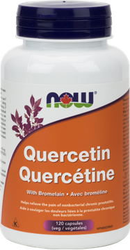 Picture of  Quercetin with Bromelain, 120 Capsules
