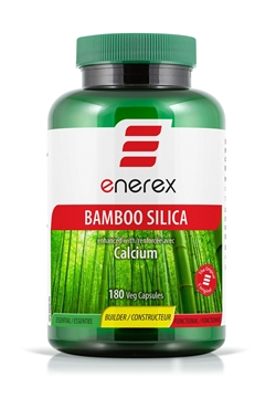 Picture of  Enerex Bamboo Silica, 180 Capsules
