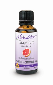 Picture of  Herbal Select 100% Pure Grapefruit Oil, 30ml