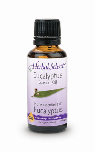 Picture of Herbal Select Herbal Select 100% Pure Eucalyptus Oil, 30ml