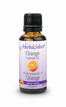 Picture of  Herbal Select 100%  Pure Orange Oil, 30ml
