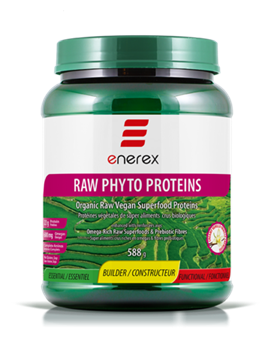 Picture of  Raw Phyto Proteins, Creamy Vanilla 588g