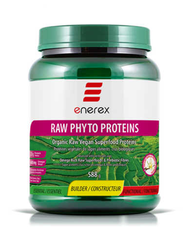 Picture of Enerex Raw Phyto Proteins, Creamy Vanilla 588g