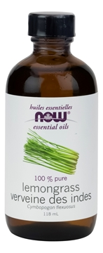 Picture of NOW Foods Lemongrass Oil, 118mL