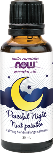 Picture of NOW Foods Peaceful Night Essential Oil Blend, 30mL