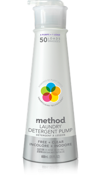 Picture of  Method Laundry Detergent, Free & Clear 600ml