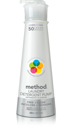 Picture of Method Home Method Laundry Detergent, Free & Clear 600ml