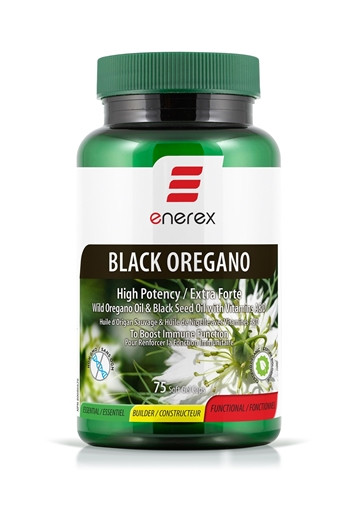 Picture of Enerex Black Oregano, 75 Capsules