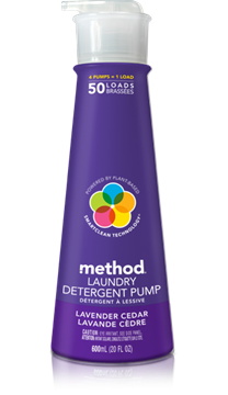 Picture of  Method Laundry Detergent, Lavender Cedar 600ml