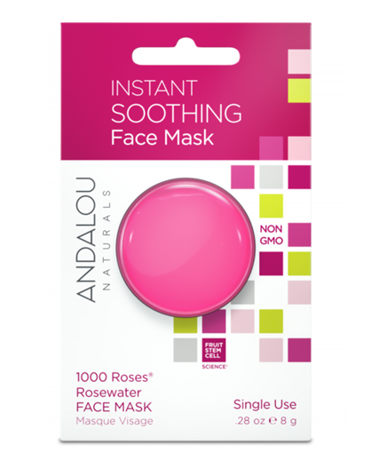 Picture of Andalou Naturals Andalou Naturals Instant Soothing Face Mask, 8g