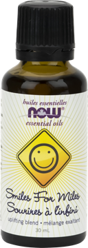 Picture of  NOW Foods Smiles for Miles Essential Oil Blend, 30ml