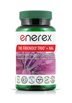 Picture of Enerex The Friendly Trio + Nag, 90 Capsules