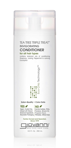 Picture of Giovanni Cosmetics Tea Tree Triple Treat Conditioner, 250ml