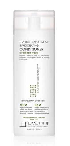 Picture of Giovanni Cosmetics Tea Tree Triple Treat Conditioner, 250ml