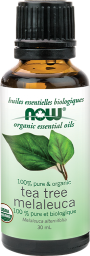 Picture of NOW Foods Organic Tea Tree Oil, 30mL