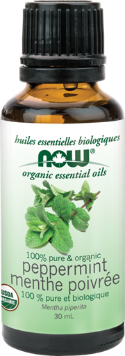 Picture of NOW Foods Organic Peppermint Oil, 30mL