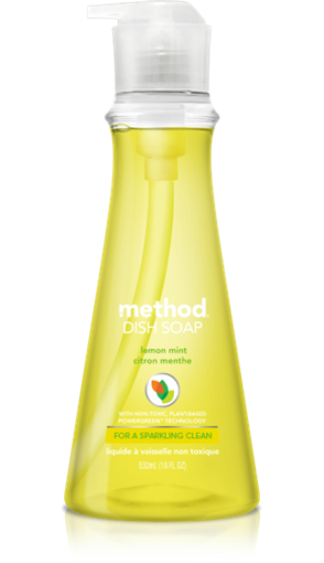 Picture of Method Home Method Dish Pump, Lemon Mint 532ml