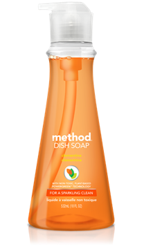 Picture of Method Home Method Dish Pump, Clementine 532ml