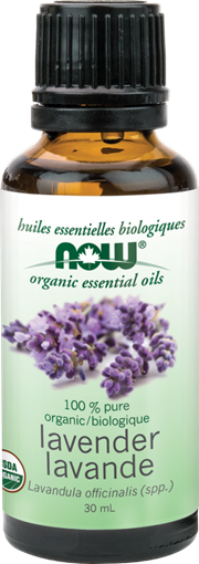 Picture of NOW Foods Organic Lavender Oil, 30mL