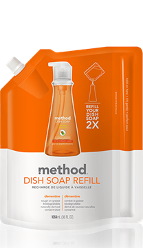 Picture of  Method Dish Pump Refill, Clementine 1064ml