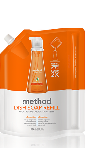 Picture of Method Home Method Dish Pump Refill, Clementine 1064ml